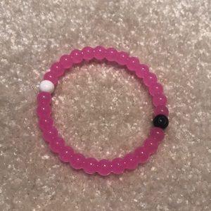 NWOT Pink Lokai bracelet